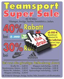 Teamsport-Angebot